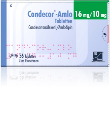 Candecor<sup>®</sup>-Amlo 8 mg/5 mg