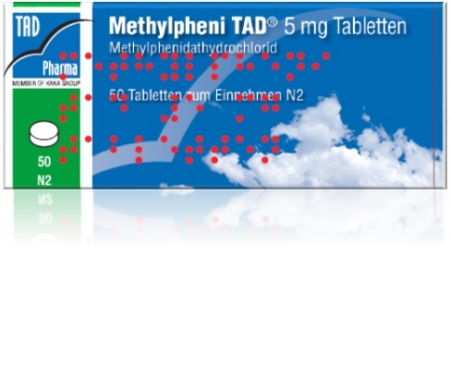 Methylpheni TAD<sup>®</sup> 20 mg
